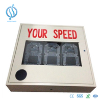 Customize Solar Radar Speed Signs for Traffic Control