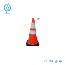 700mm Reflective Cone with Black Base