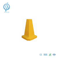 500mm Yellow Triangle Traffic Cone