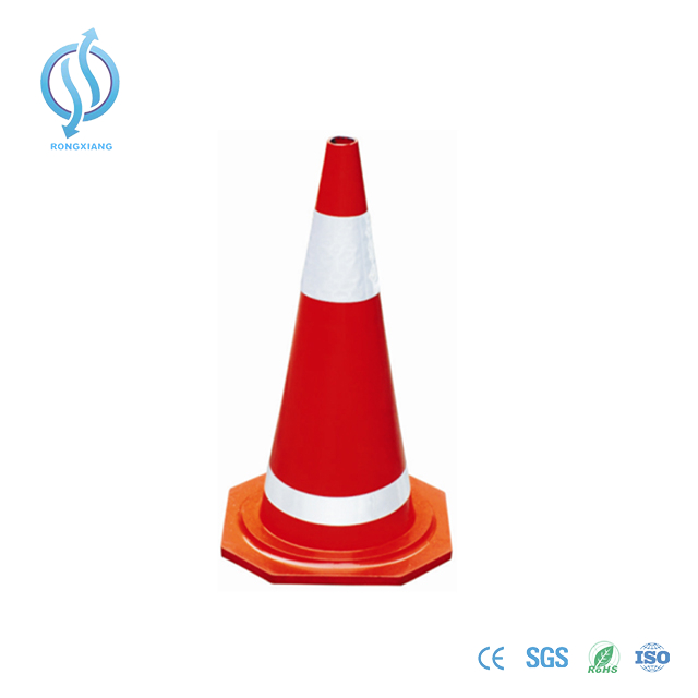 700mm Red Rubber Road Cone