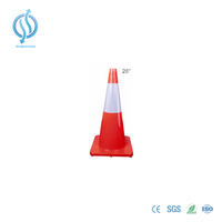 700mm Red Road Cone