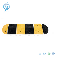 250mm Rubber Speed Hump for Road Safety