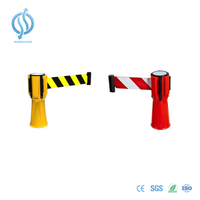 High-Visibility Cone Topper Retractable Belt Barrier